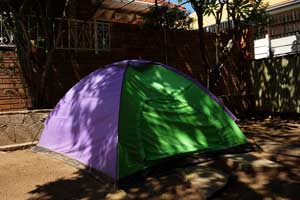 Windhoek Hostels Tent